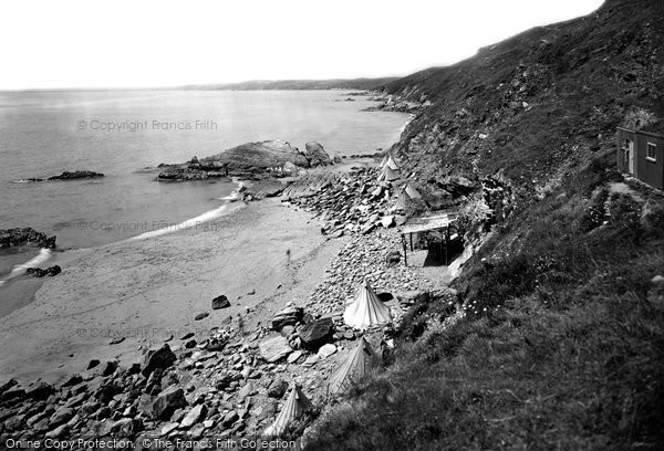 Photo of Whitsand Bay, the Beach 1930, ref. 83301