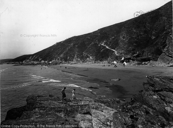 Photo of Whitsand Bay, The Beach 1930