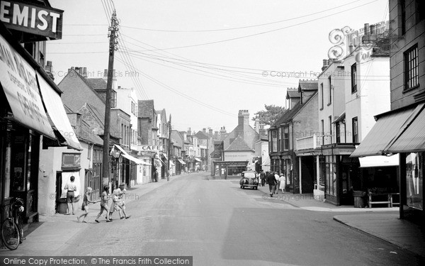Photo of Whitstable, Harbour Street 1950