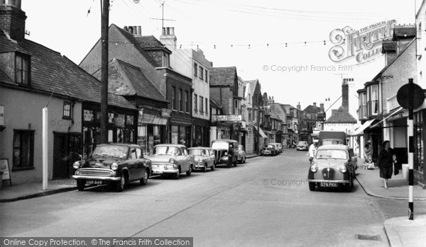 Photo of Whitstable, Harbour Street 1962