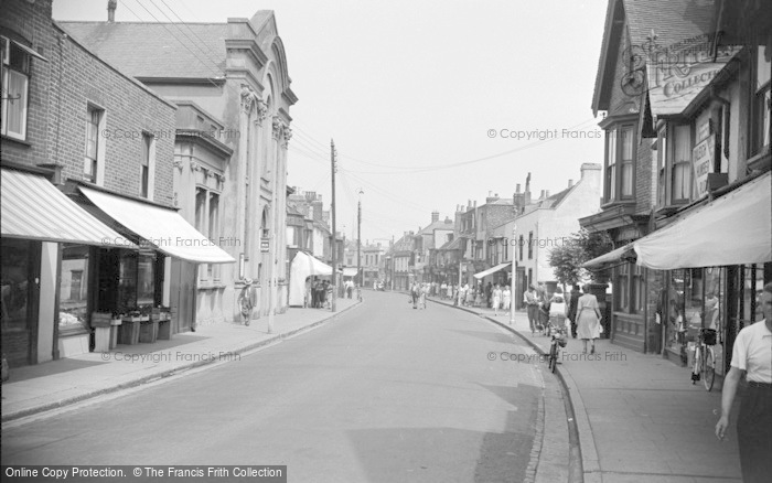 Photo of Whitstable, High Street 1950