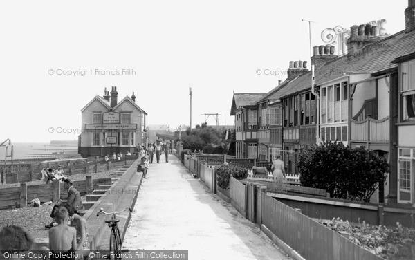 Photo of Whitstable, Marine Terrace 1950