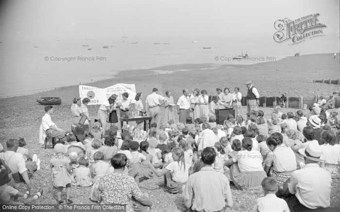 Photo of Whitstable, Reeves Beach 1950