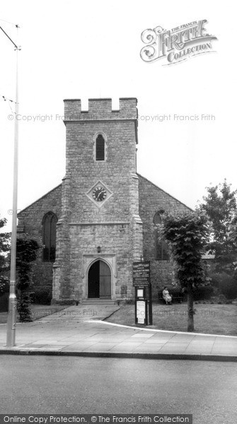 Photo of Whitstable, St Alphege's Church 1962