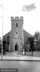 St Alphege's Church 1962, Whitstable