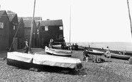 Whitstable, the Beach 1950
