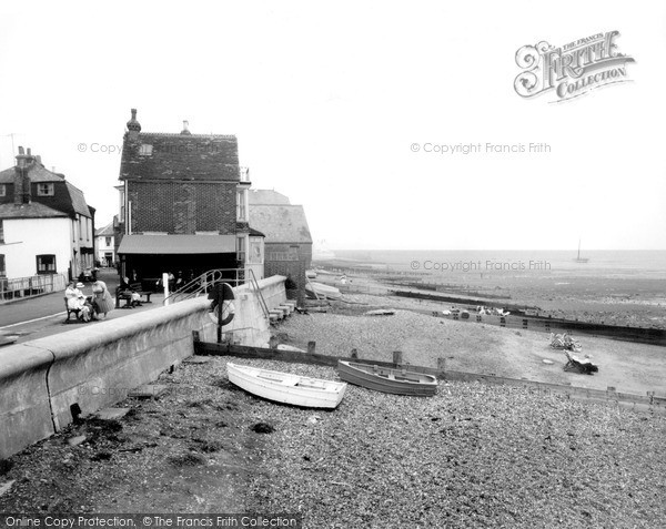 Photo of Whitstable, The Beach 1962