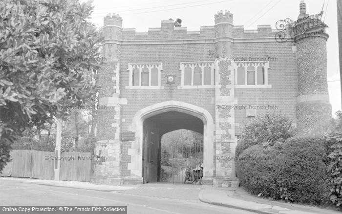 Photo of Whitstable, The Castle 1962