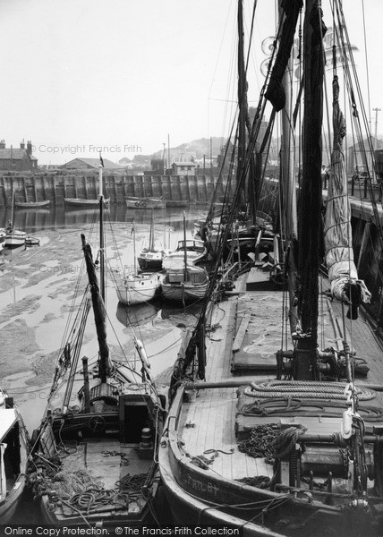 Photo of Whitstable, The Harbour 1950
