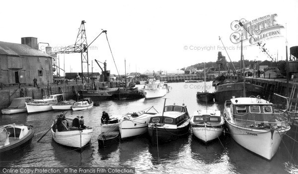Photo of Whitstable, The Harbour 1962