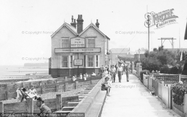 Photo of Whitstable, The Old Neptune, Marine Terrace 1950