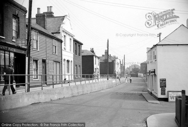 Photo of Whitstable, The Old Town 1950