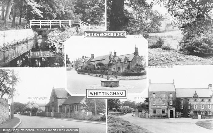 Photo of Whittingham, Composite c.1955