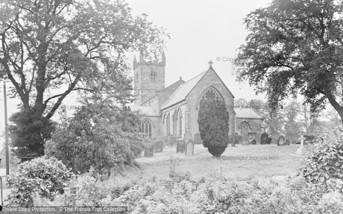 Photo of Whittingham, St Bartholomew's Church c.1955
