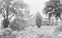 Whittingham, St Bartholomew's Church c.1955