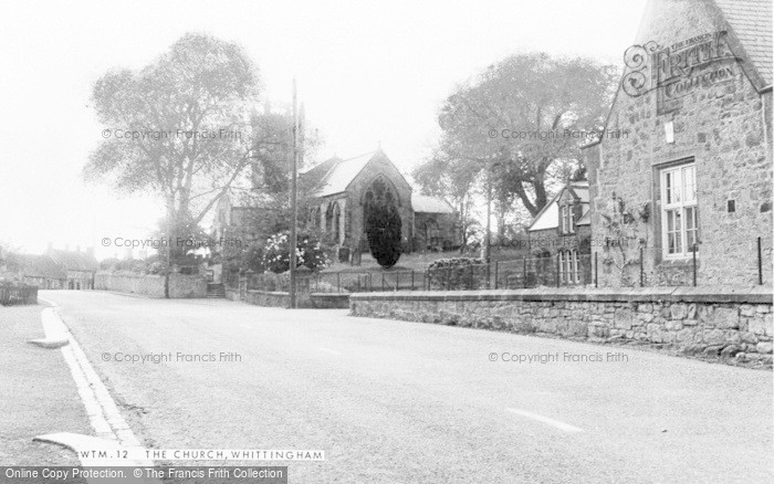 Photo of Whittingham, St Bartholomew's Church c.1955