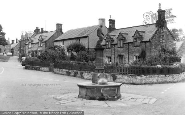 Photo of Whittingham, The Fountain c.1955