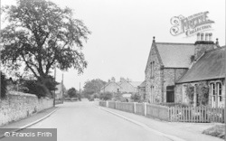 Whittingham, The Village c.1955