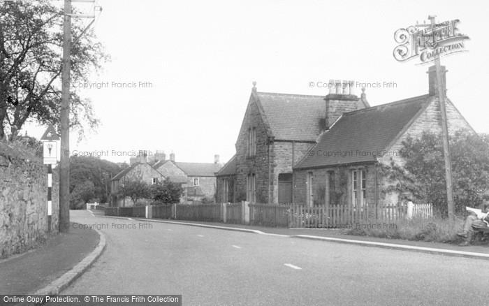 Photo of Whittingham, The Village c.1955
