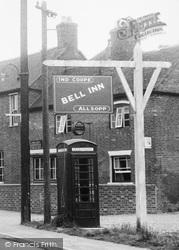 Bell Inn c.1955, Whittington