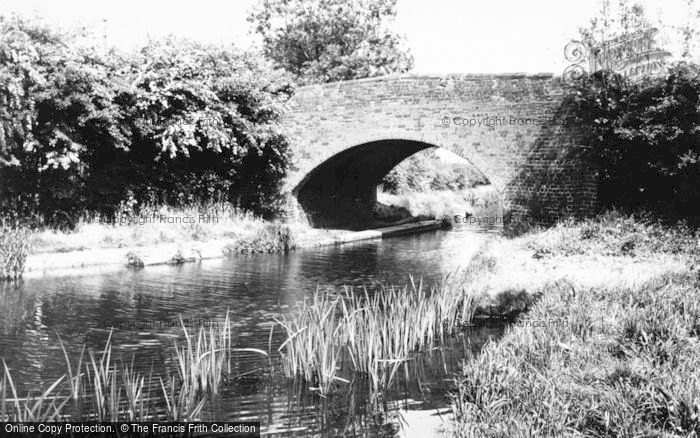 Photo of Whittington, Canal Bridge c.1965