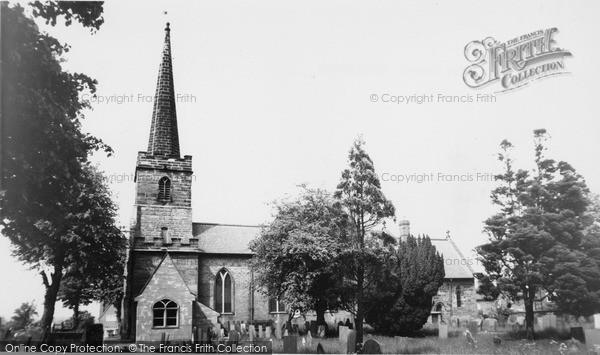 Photo of Whittington, Church Of St Giles 1968