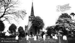 Church Of St Giles c.1965, Whittington