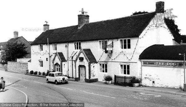 Photo of Whittington, Dog Inn c.1965