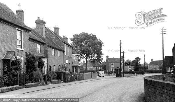 Photo of Whittington, Main Street 1955