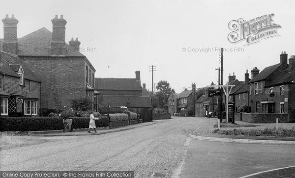 Photo of Whittington, Main Street c.1955