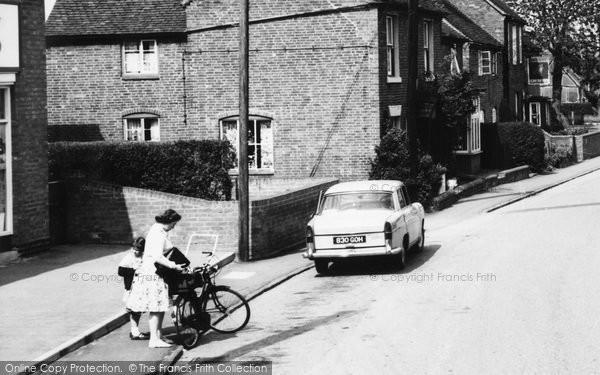 Photo of Whittington, Main Street c.1965