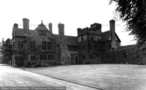 Photo of Whittington, Old Hall c.1955