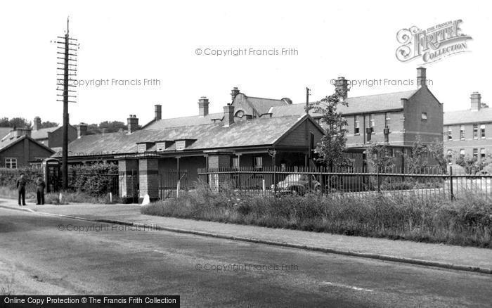 Photo of Whittington, The Barracks c.1955