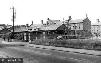 Whittington, the Barracks c1955