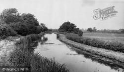 The Canal c.1955, Whittington