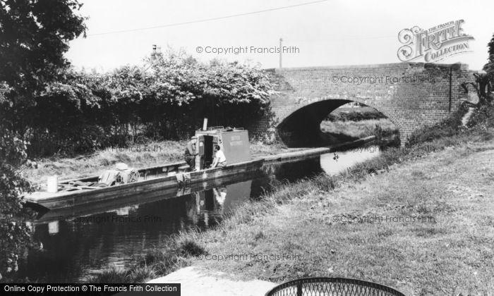 Photo of Whittington, The Canal c.1965