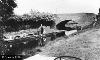 Whittington, the Canal c1965