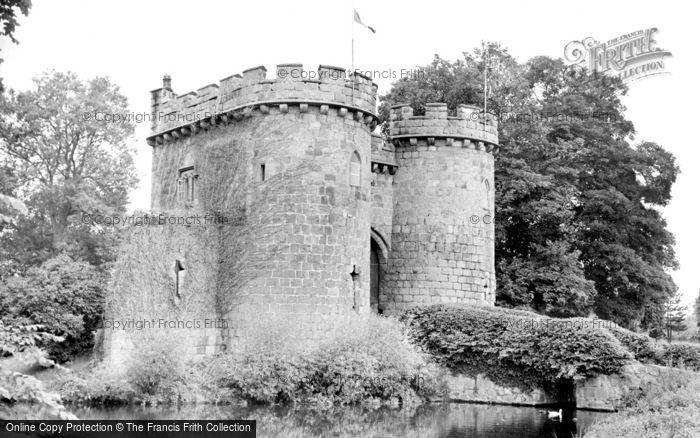 Photo of Whittington, The Castle c.1955
