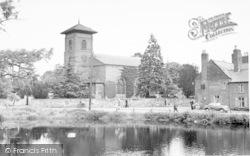 Whittington, The Church c.1955