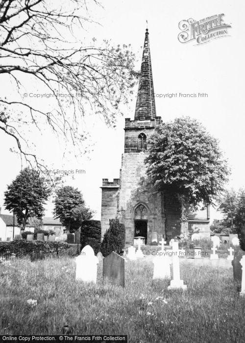 Photo of Whittington, The Church c.1965