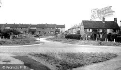 The Crescent From The Green c.1955, Whittington