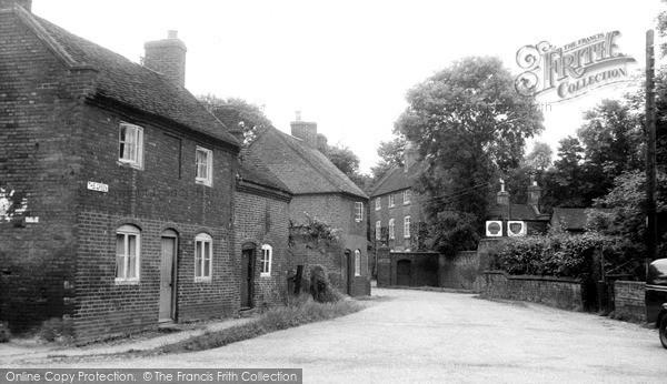 Photo of Whittington, The Green c.1960