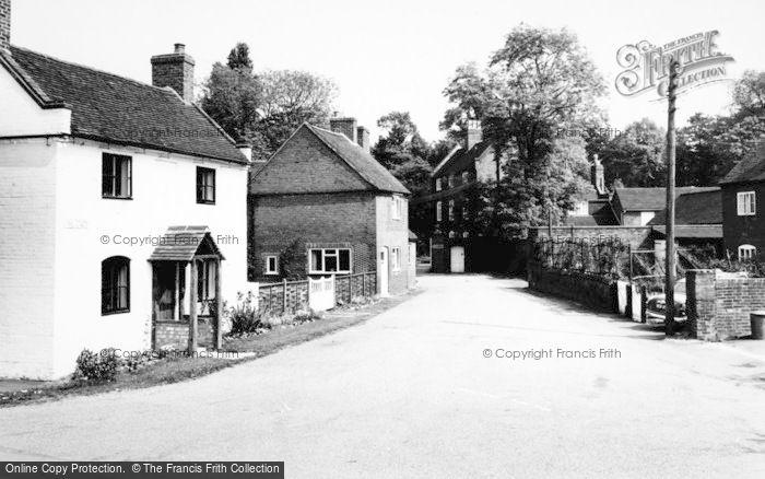 Photo of Whittington, The Green c.1965