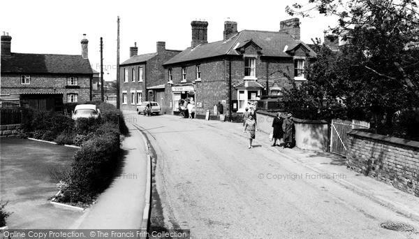 Photo of Whittington, The Post Office 1968