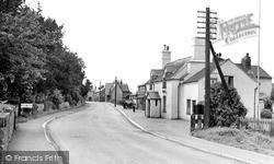 Whittington, The Village c.1955