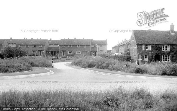Photo of Whittington, The Village c.1955