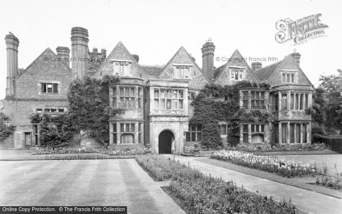 Photo of Whittington, Whittington Old Hall c.1955