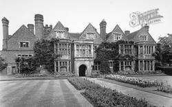 Whittington Old Hall c.1955, Whittington