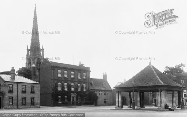 Photo of Whittlesey, Market Place 1904