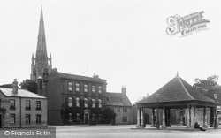 Whittlesey, Market Place 1904